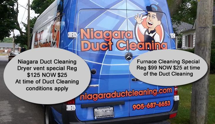 Niagara Duct Cleaning/ Aeroseal Serving Niagara